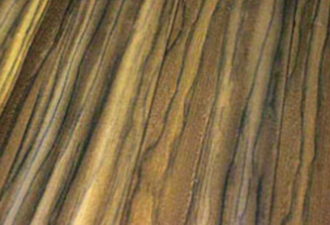 colored altered veneer